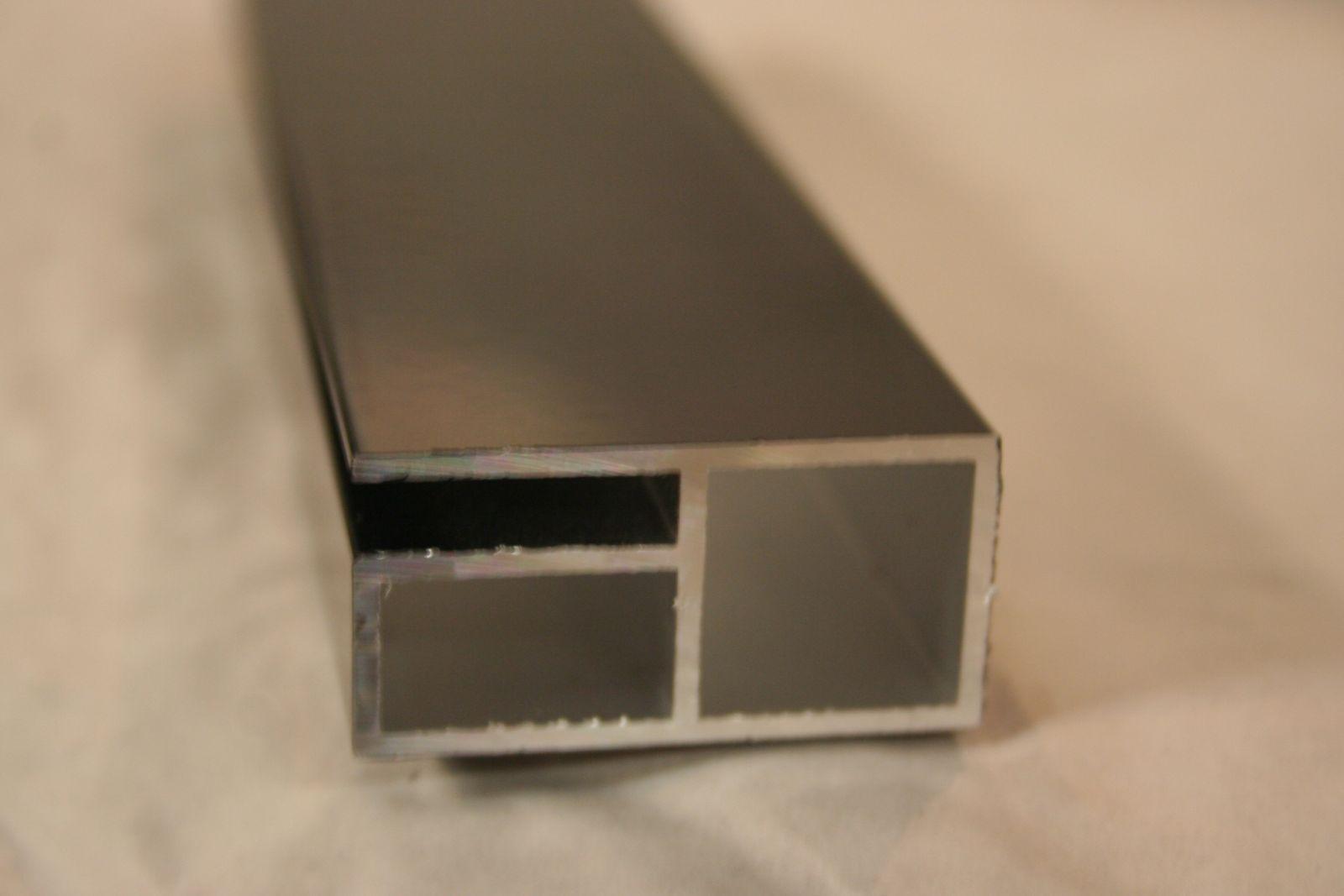 profiel 20x20mm met 1 flens om gaasmatten of platen tot 5mm