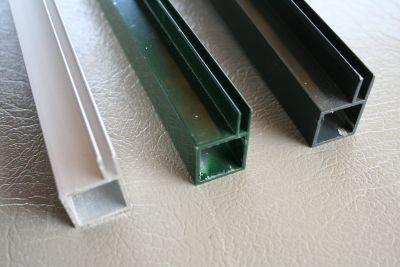 profielen 20 x 20 x 1,5mm met flens 3 of  4mm  en 6mm